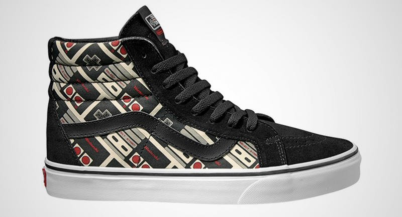 Nintendo and Vans Team Up For Shoe Line 9