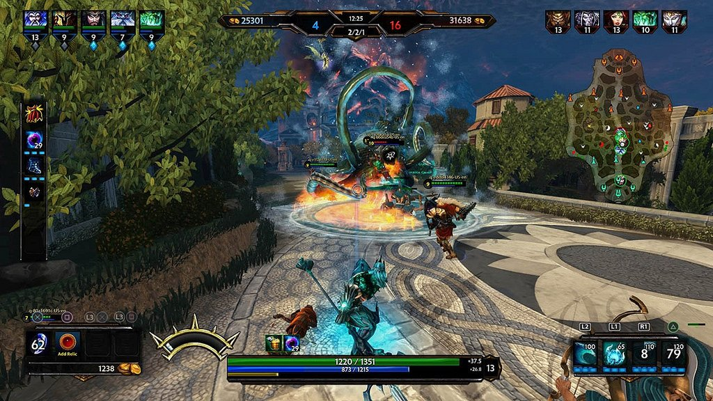 Smite on PS4 Launches on May 31st