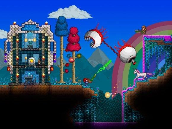 Terraria Releasing on Wii U in June