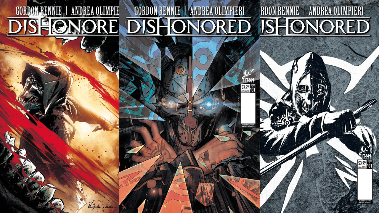 Titan Announces Dishonored Comic