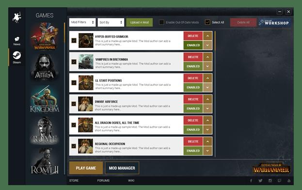 Total War: Warhammer Will Feature Mod Support And Steam Workshop