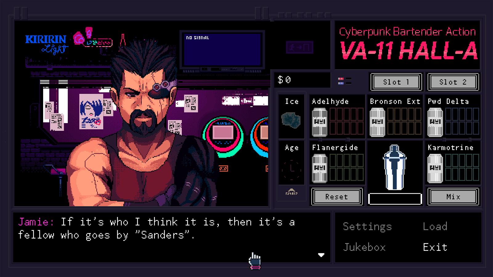 Va-11 Hall-A (Pc) Review 4
