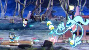 Cuphead's Platforming Levels are Old-School Hard, Repetitive 5