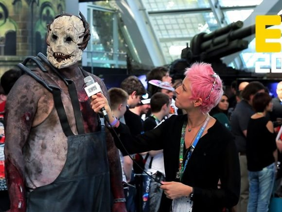 Dead by Daylight Trapper Interview   E3 2016 with Ali Baker