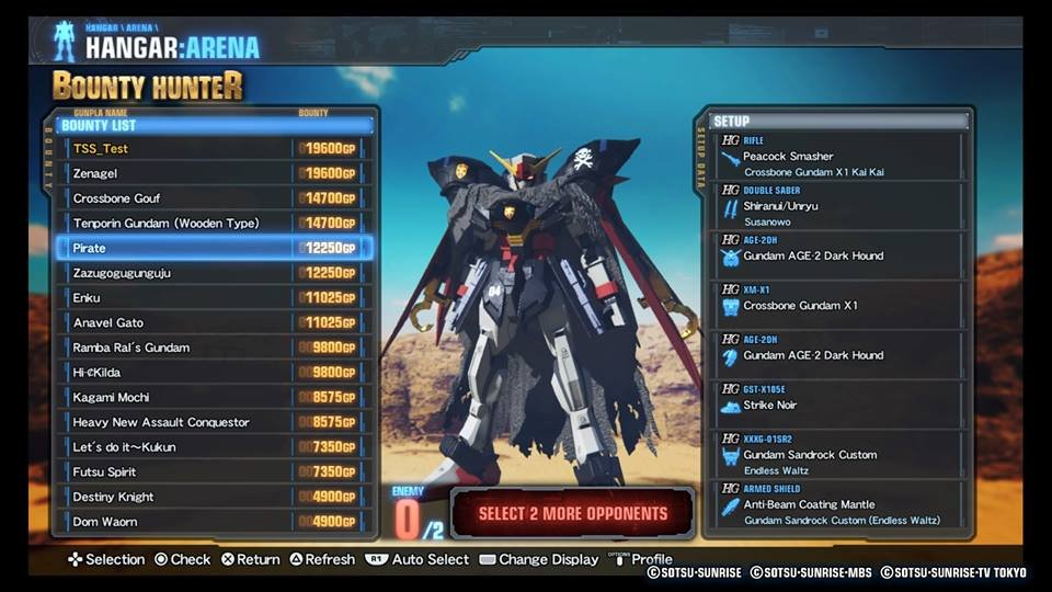 Gundam Breaker 3 (PS Vita) Review 2