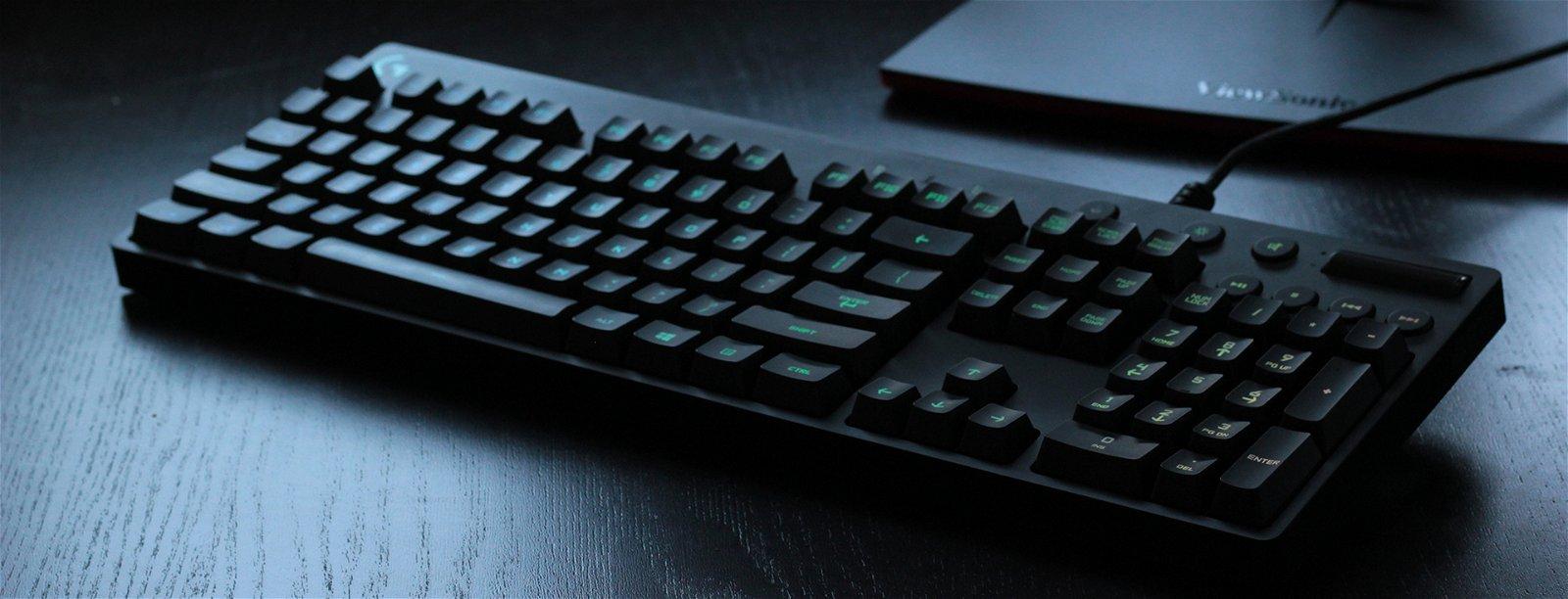 Logitech G810 Orion Spectrum Mechanical Keyboard Review 4