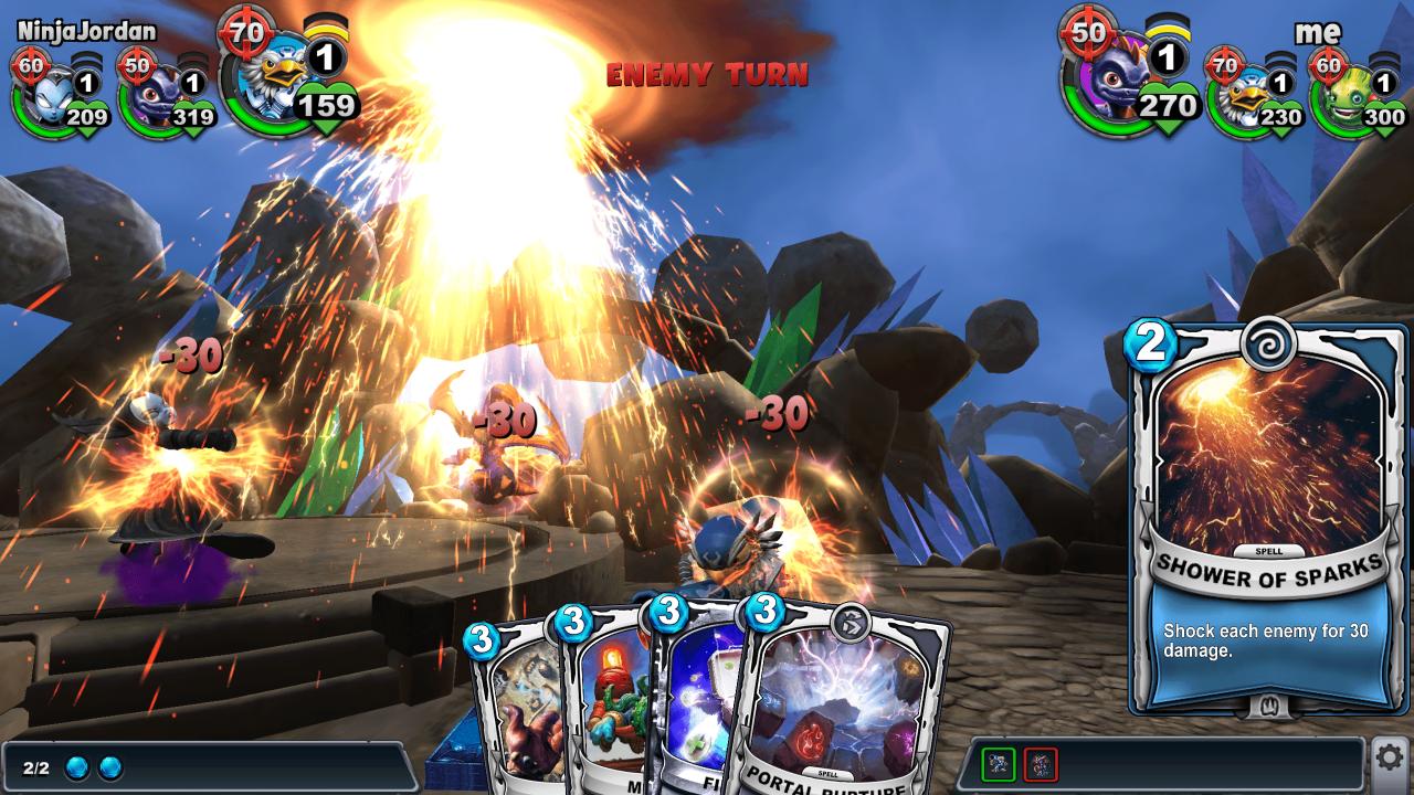 Skylanders Battlecast (Mobile) Review 4