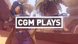 CGM Plays: Overwatch - Ana Gameplay 1