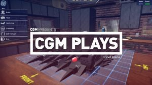 CGM Plays: Robot Arena III 1