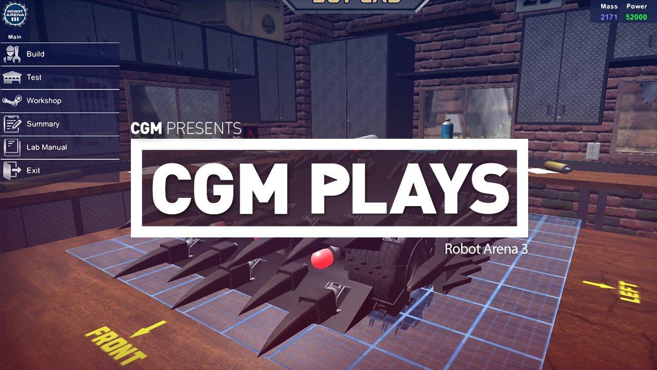CGM Plays: Robot Arena III 1
