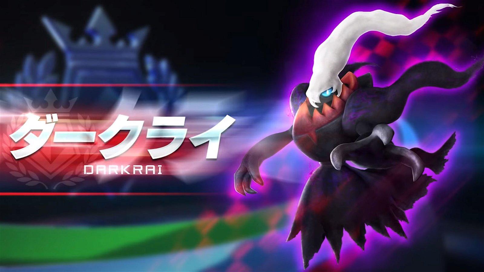Darkrai Is Coming To Pokken Tournament