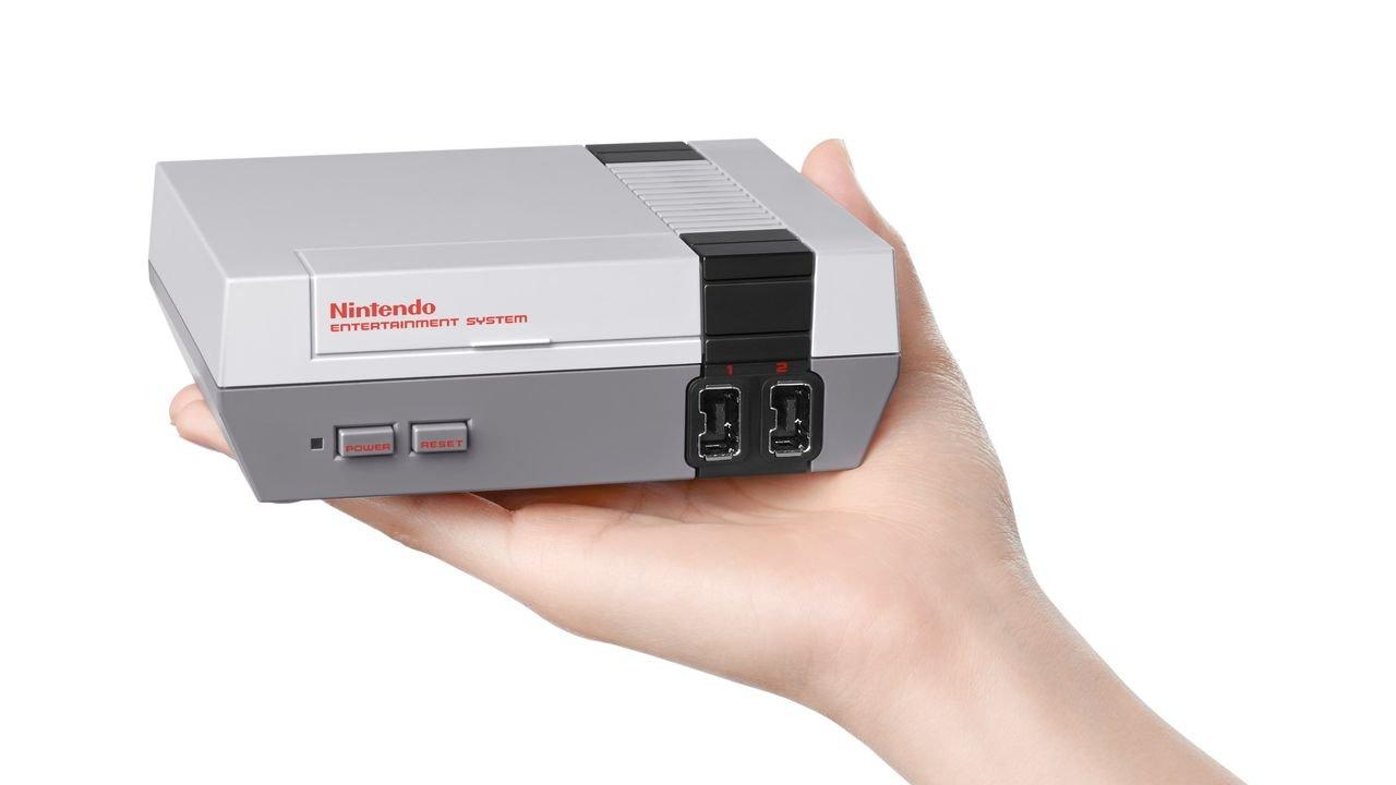 Nintendo Announces Mini-NES Console