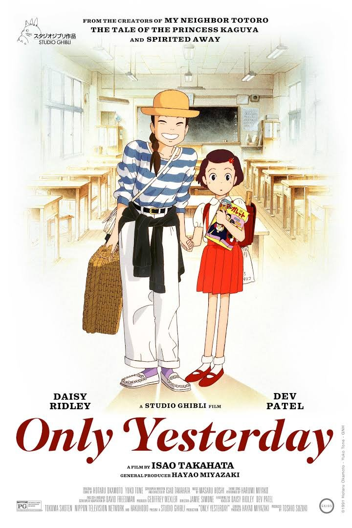 Only Yesterday (Movie) Review 2