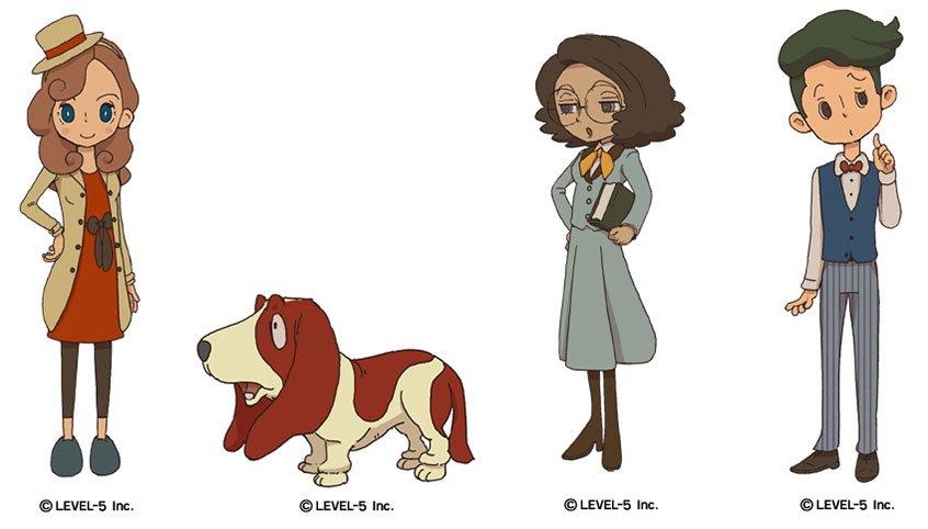 The Professor Layton Saga Continues With Lady Layton