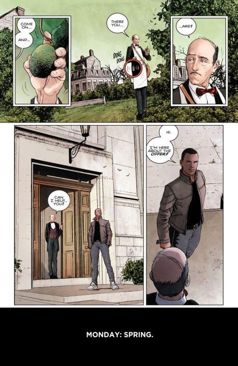 Batman Rebirth #1 (Comic) Review 1