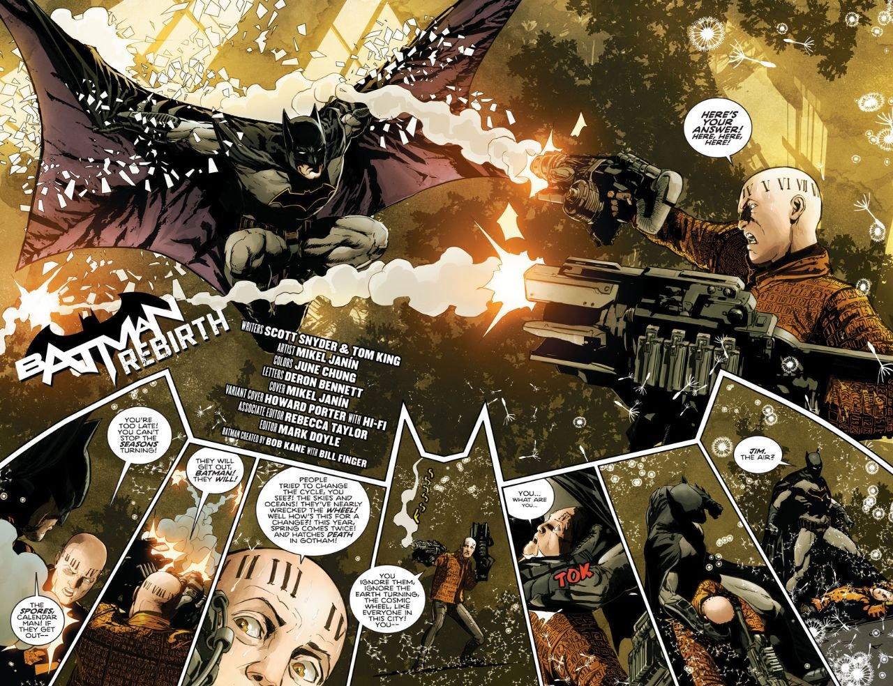 Batman Rebirth #1 (Comic) Review 2