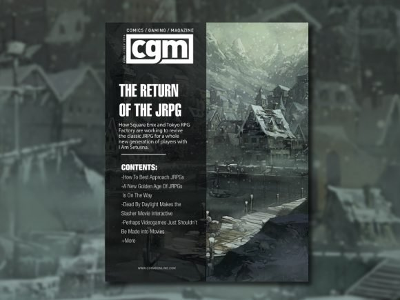 CGMagazine June/July 2016: The Return Of The JRPG 1