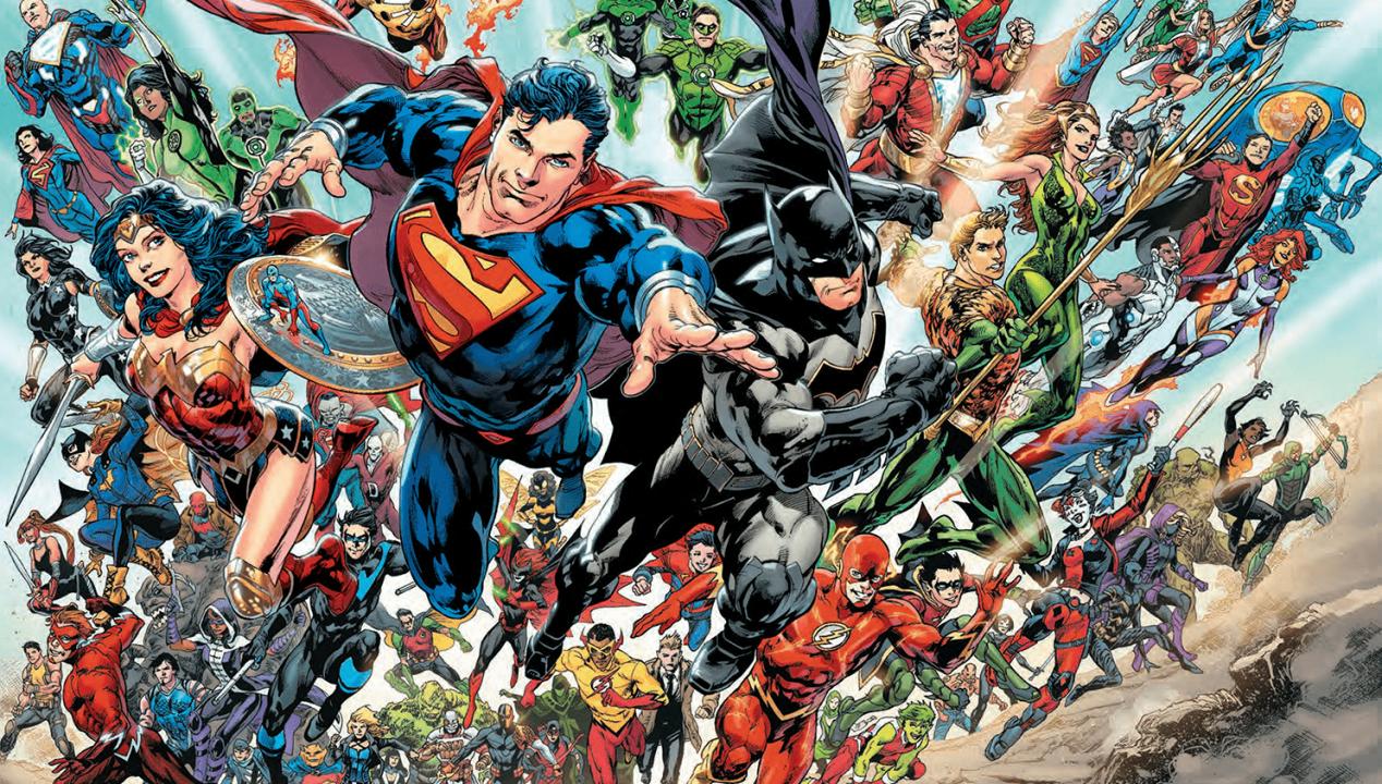 Dc Comics And Its Newest Rebirth 1