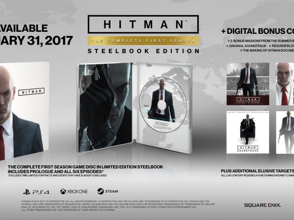 Hitman's Full Season Coming to Retail in January