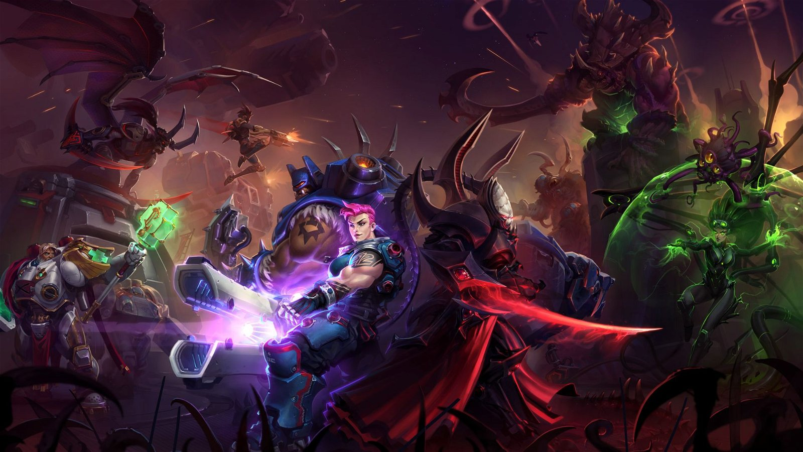 Overwatch Character Zarya Joins Heroes of the Storm Roster 1