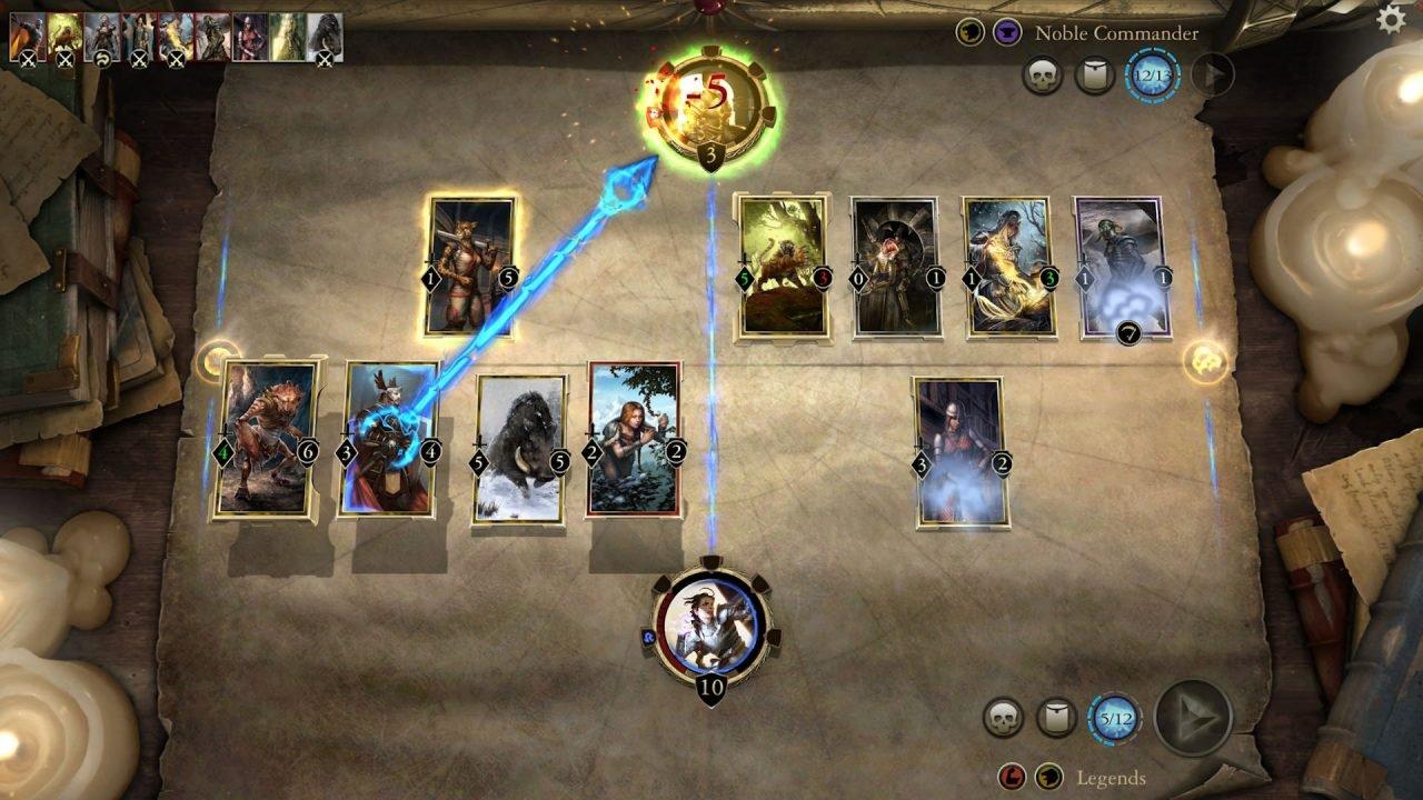 The Elder Scrolls Legends Beta Preview 2