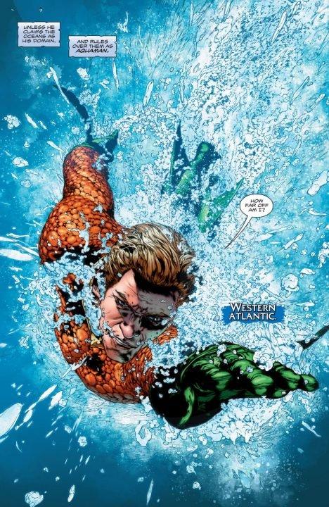 Aquaman Rebirth #1 (Comic) Review 3