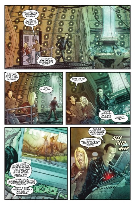 Doctor Who: The Ninth Doctor Collection Vol 1 (Comic) Review 1