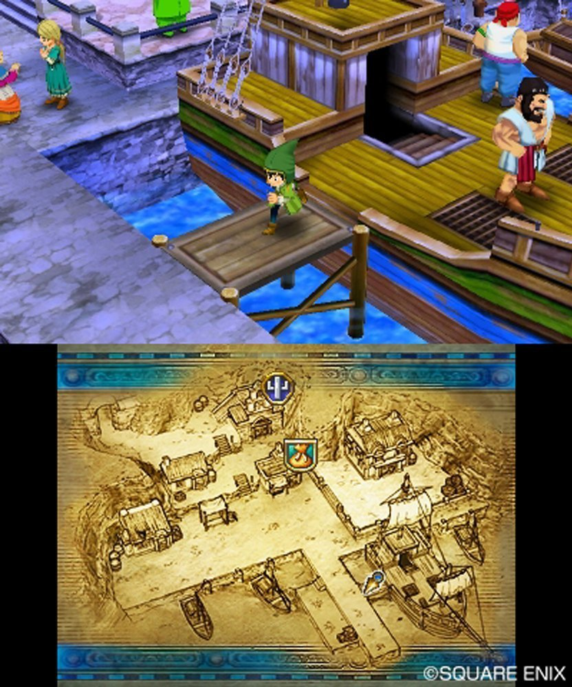 Dragon Quest Vii: Fragments Of The Forgotten Past (3Ds) Review 2