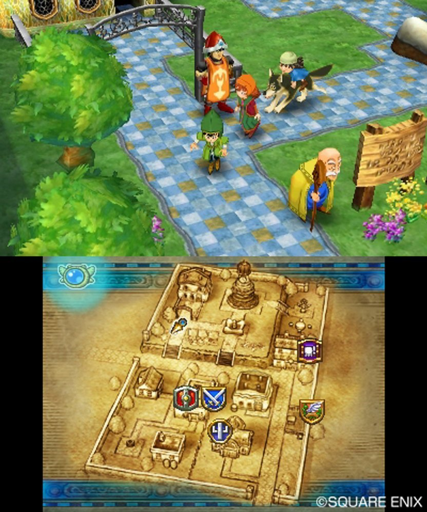 Dragon Quest Vii: Fragments Of The Forgotten Past (3Ds) Review 3