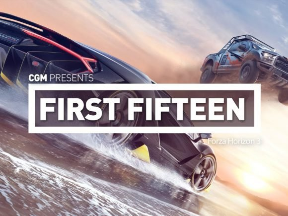 First Fifteen: Forza Horizon 3