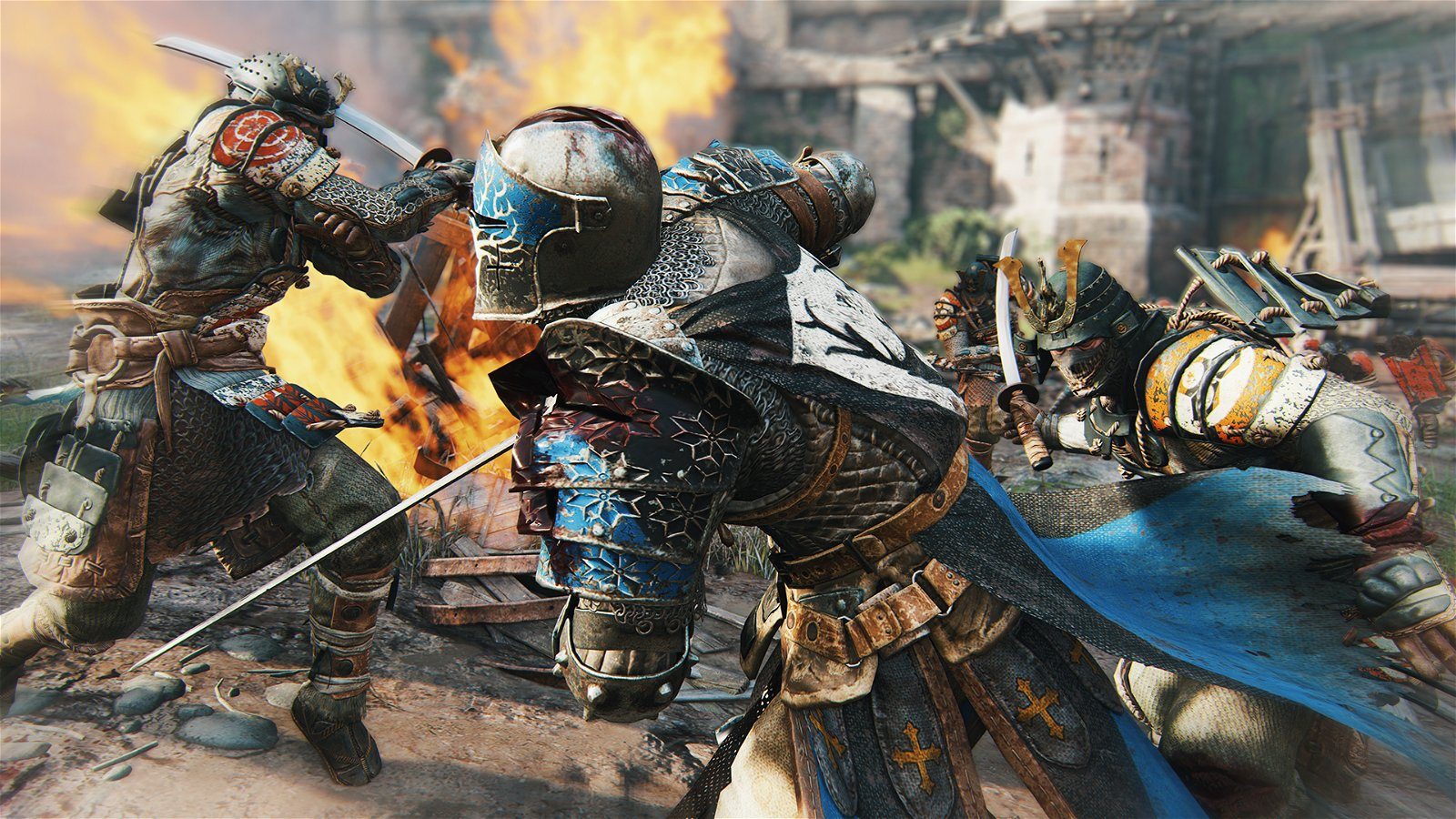 For Honor Preview: Knights Vs Vikings Vs Samurai 2