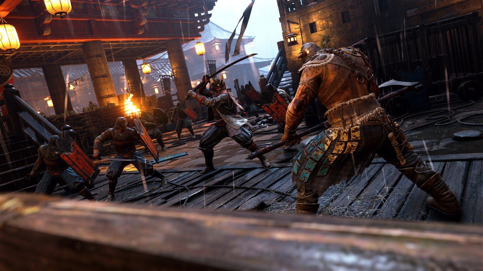 For Honor Preview: Knights Vs Vikings Vs Samurai
