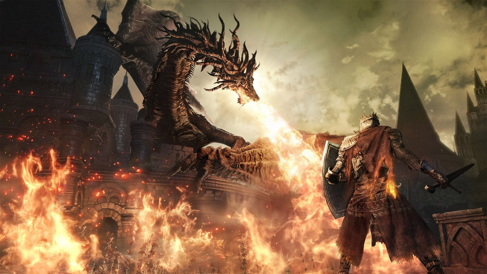 From Software's Work on Dark Souls III Ends
