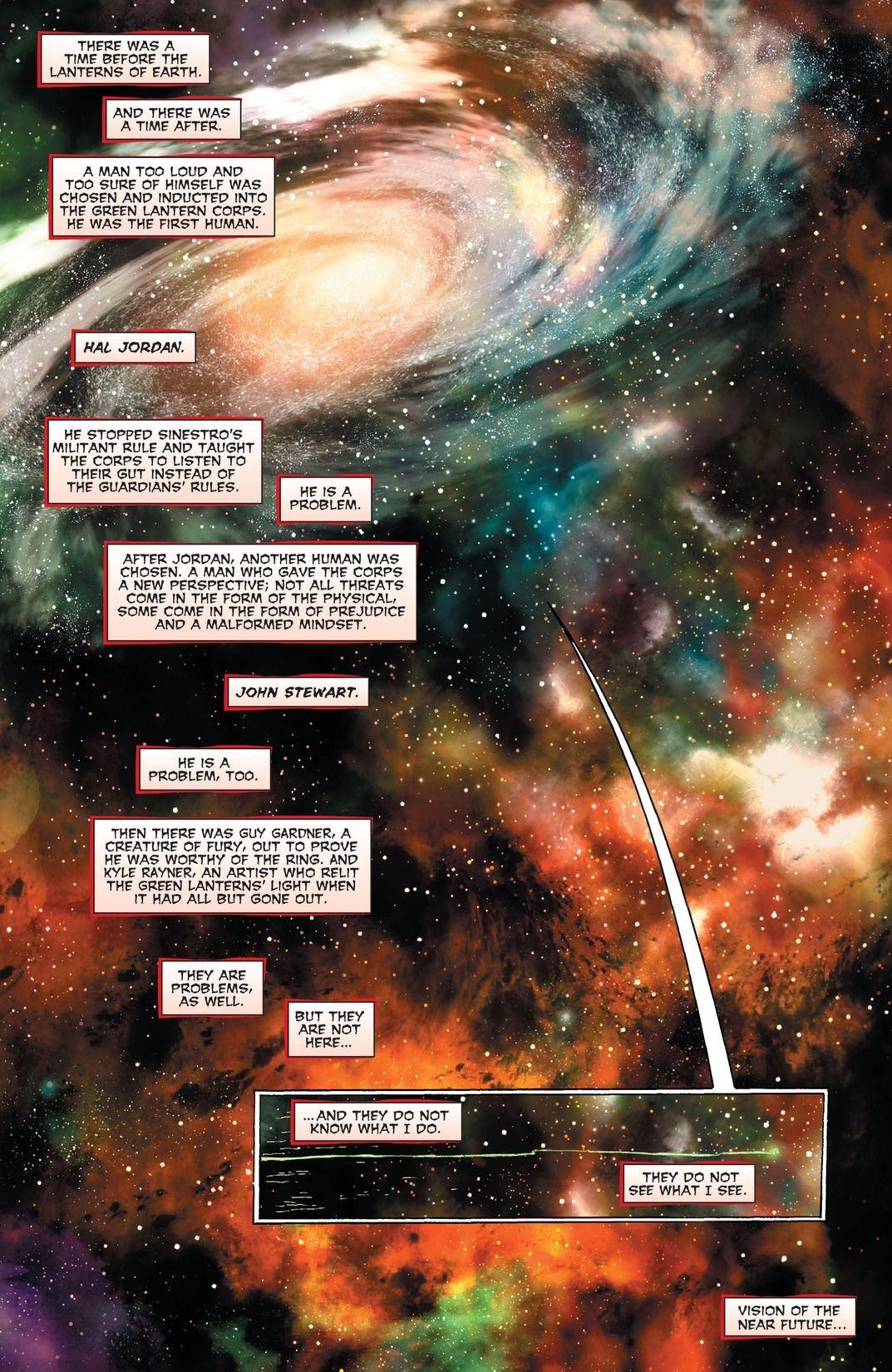 Green Lanterns Rebirth #1 Review 2