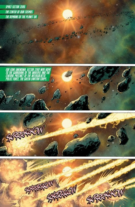 Hal Jordan and the Green Lantern Corps Rebirth #1 (Comic) Review 4