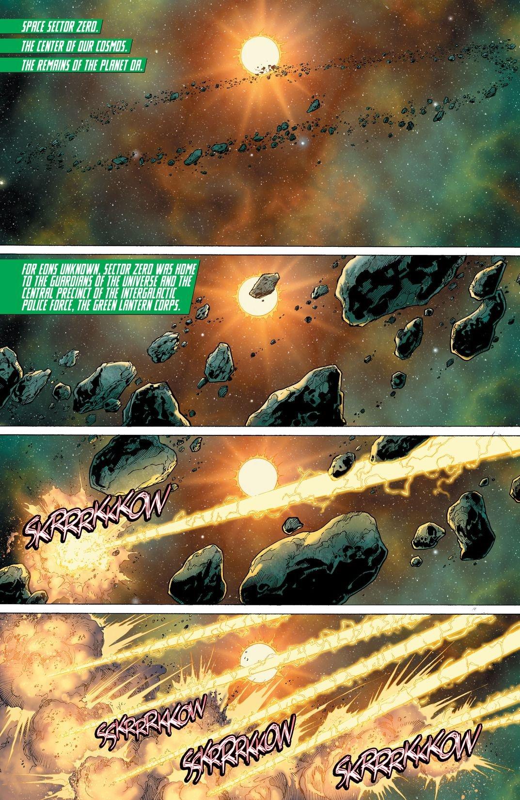 Hal Jordan And The Green Lantern Corps Rebirth #1 (Comic) Review 4