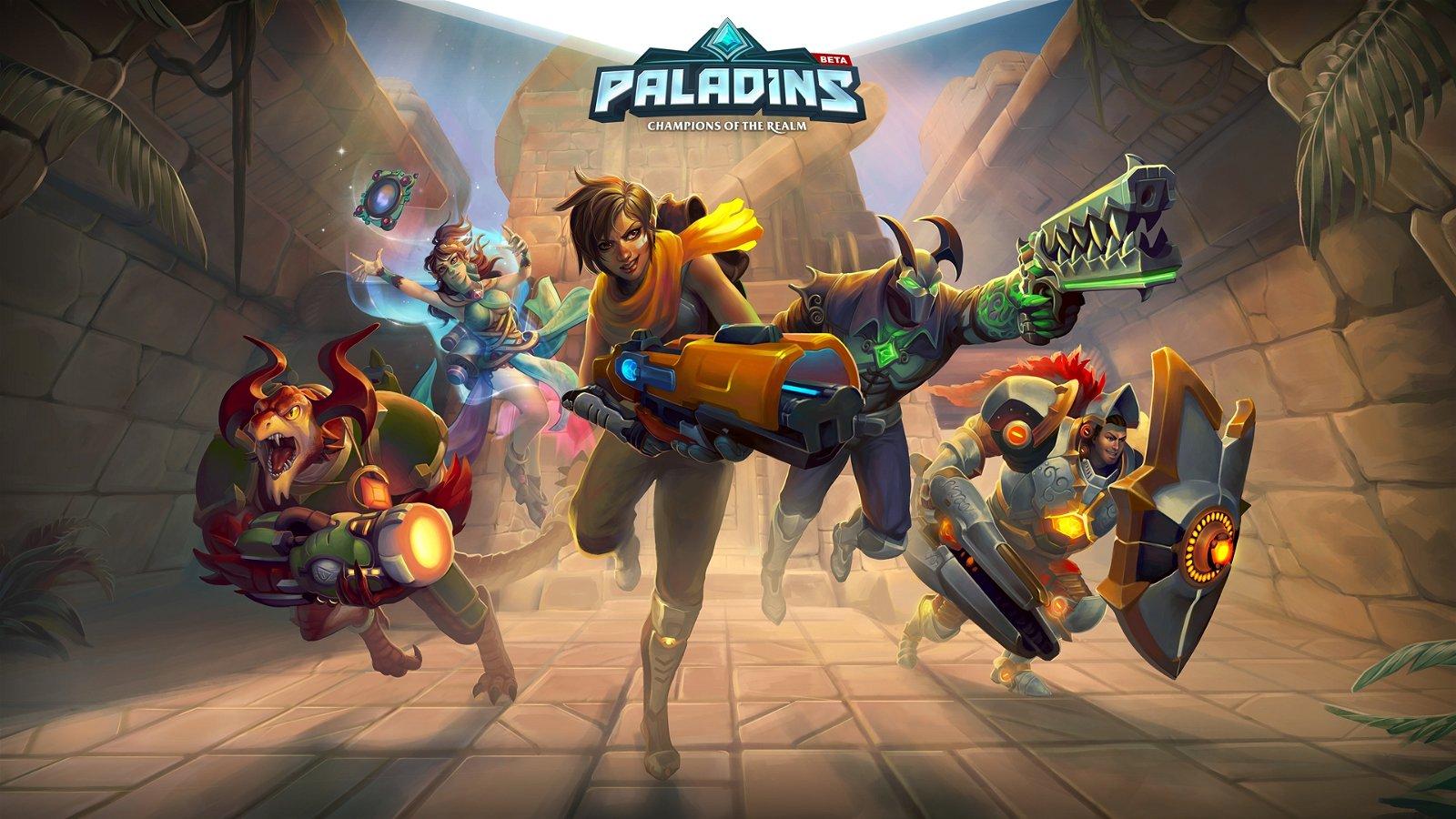 Hi-Rez Studios' Paladins Headed to PlayStation 4, Xbox One 1