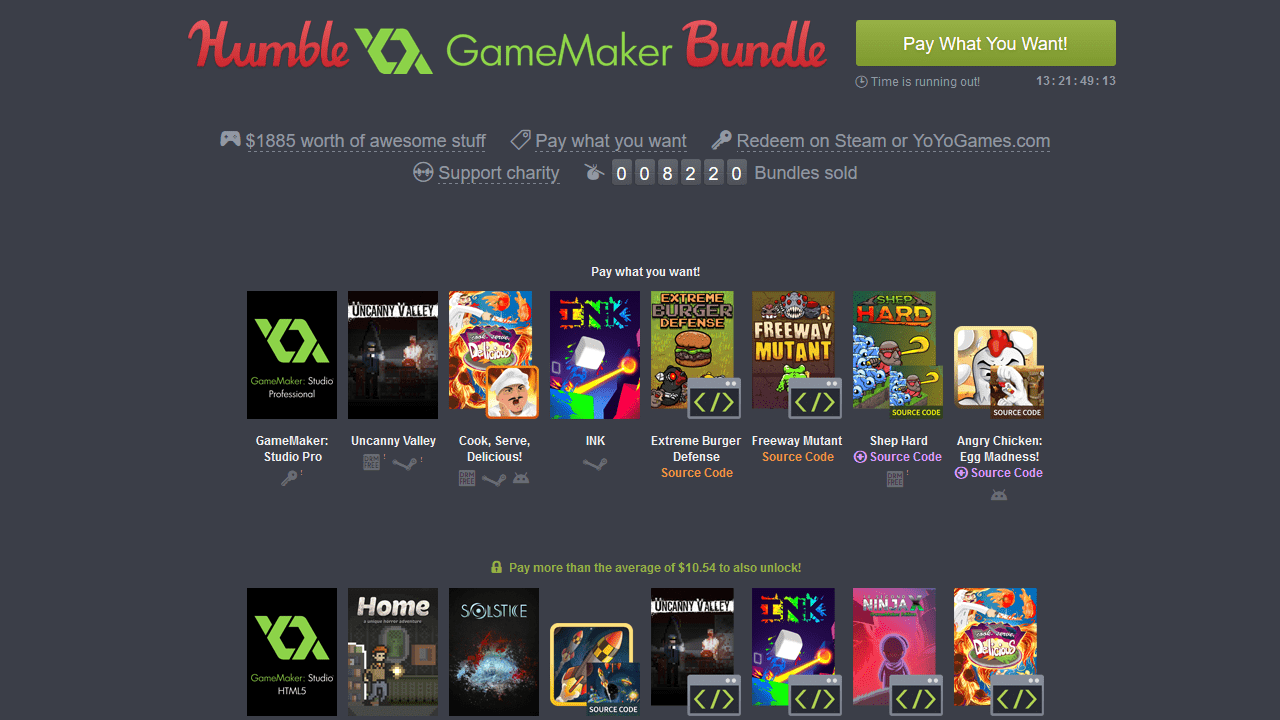 Humble GameMaker Bundle Offers  $15 For Nearly $2,000 In Game Development Tools 1