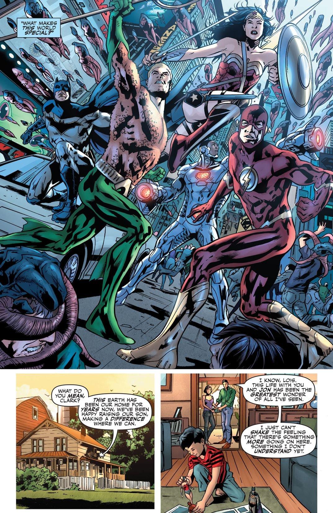 Justice League Rebirth #1 (Comic) Review 3
