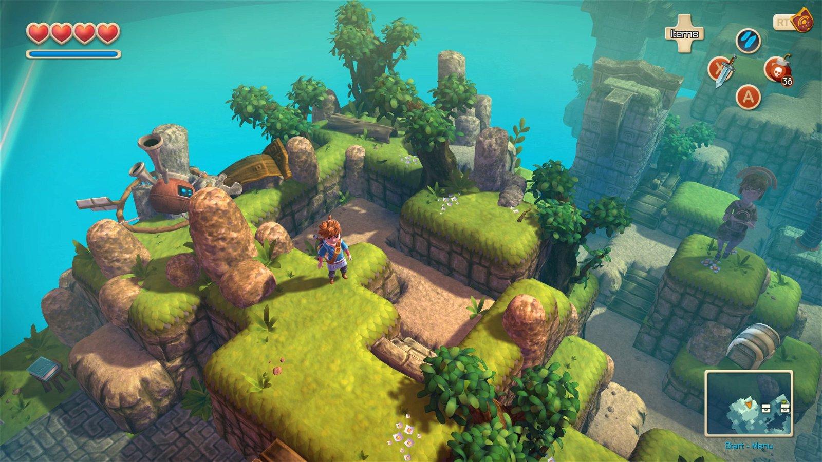 Oceanhorn: Monster Of Uncharted Seas (Ps4) Review 4