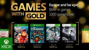 Xbox Unveils Disappointing Games with Gold Lineup for October