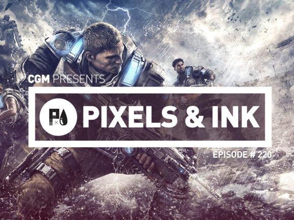 Pixels & Ink #220 - Worried Pacman