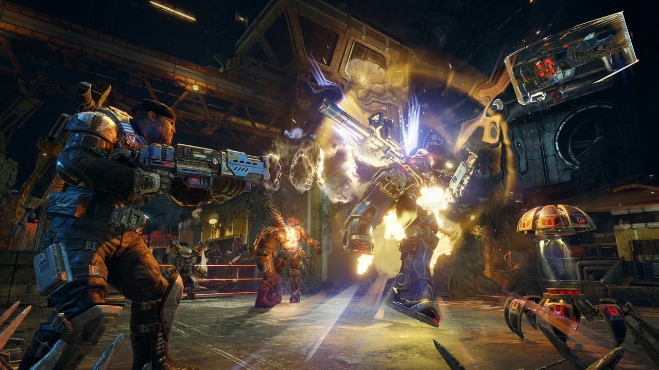 Preview: Gears of War 4's Horde Mode Made Me A Chainsaw Convert 5