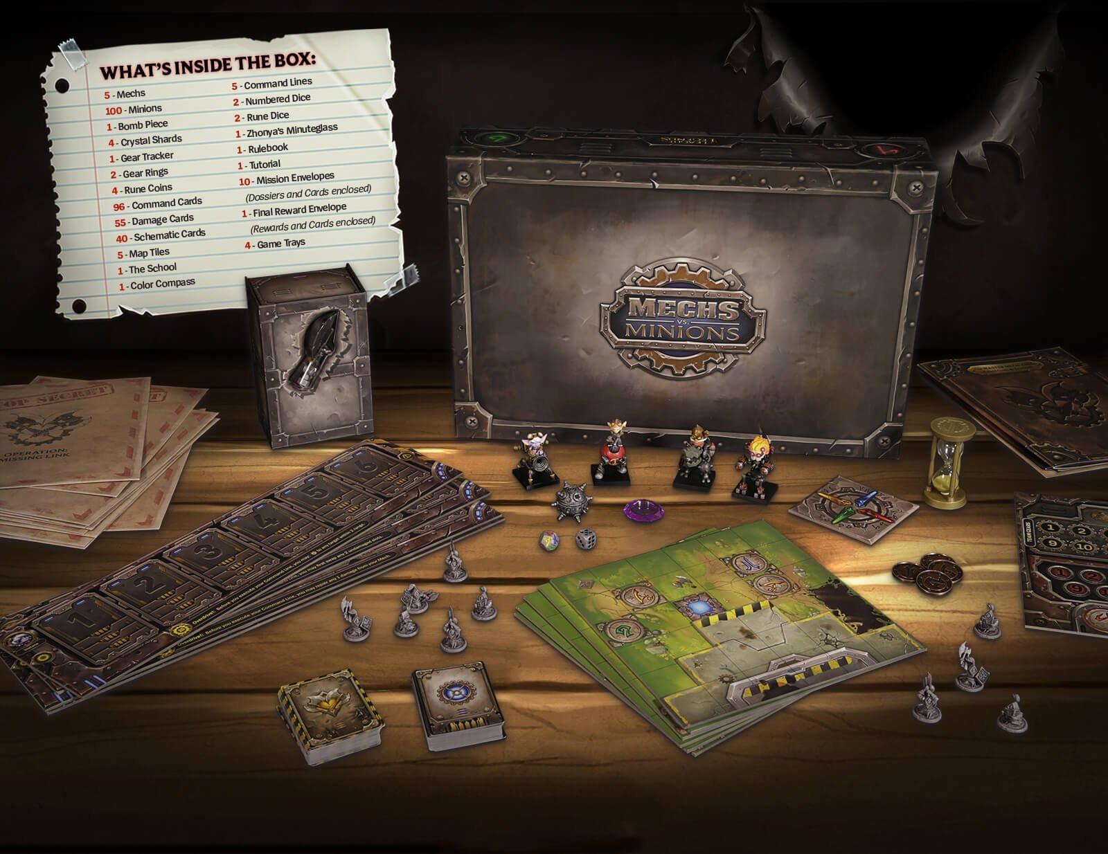 Riot Games Announces Tabletop Game Mechs Vs. Minions 2