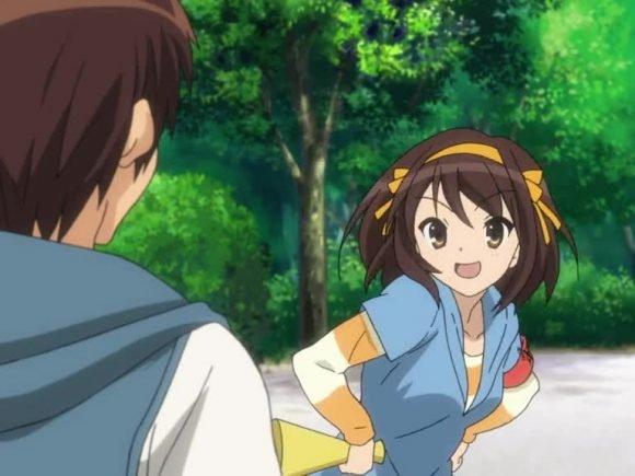 The Melancholy of Haruhi Suzumiya (Anime) Review 1