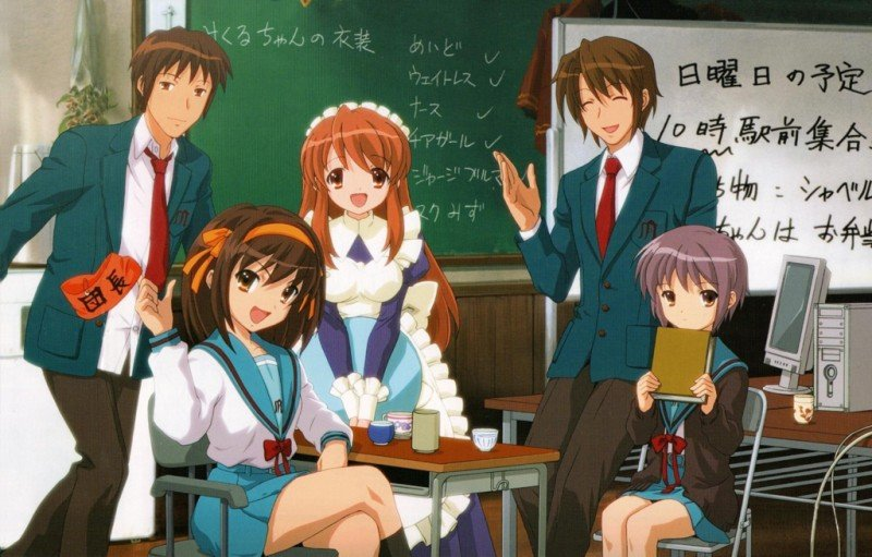 The Melancholy of Haruhi Suzumiya (Anime) Review 3
