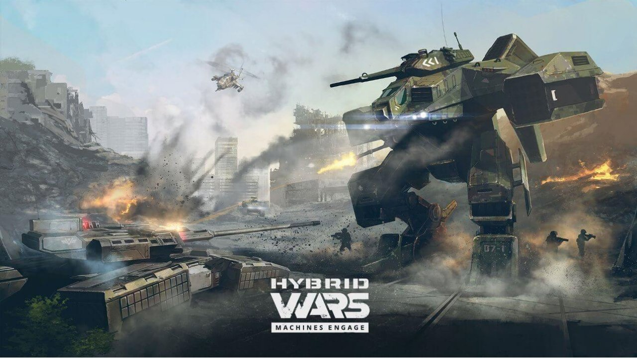 Wargaming's Hybrid Wars Launches on Steam