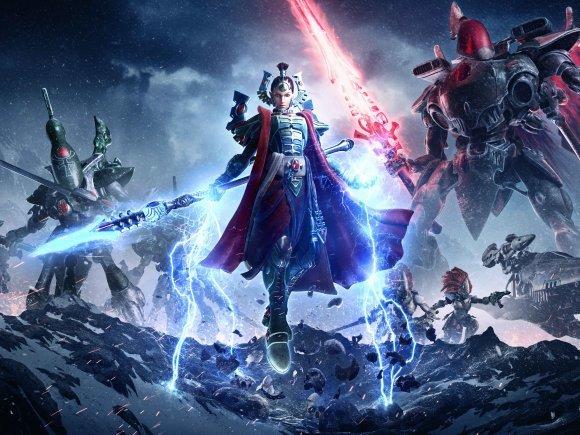 Warhammer 40,000: Dawn of War III Teases Playable Eldar Race