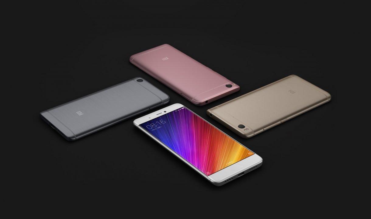 Xiaomi Announces MI5S and MI5S Plus