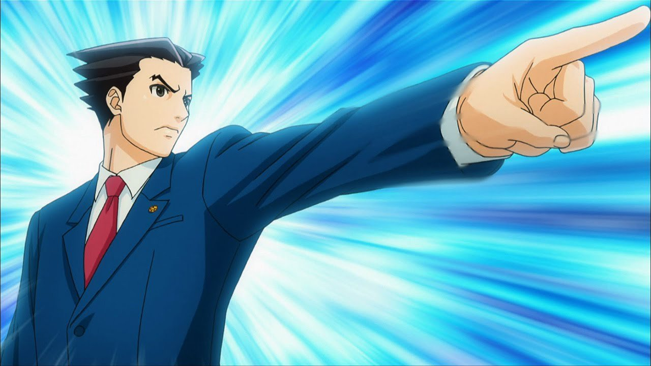 Ace attorney anime review